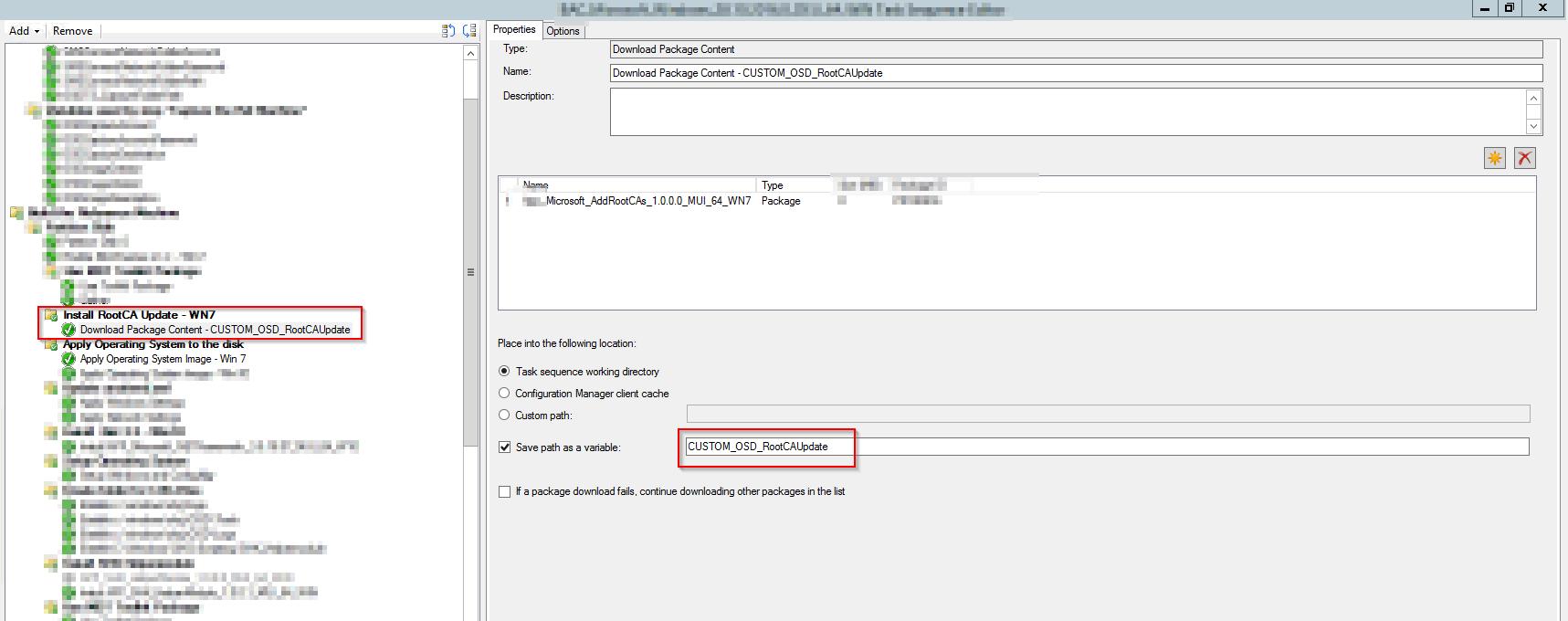 SCCM 1610 Build and Capture Windows 7 Config Manager Client